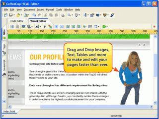Sehr guter HTML Editor mit vielen nützlichen Assistenten