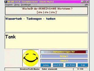 Rechtschreib und Silbentrainer mit integriertem Fragen-Editor
