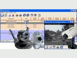 Video-Komplettlösung mit Scheduler und Bewegungsmelder