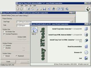 Einfache Erstellung von HTML-basierten Autorun Menüs für CDs und DVDs
