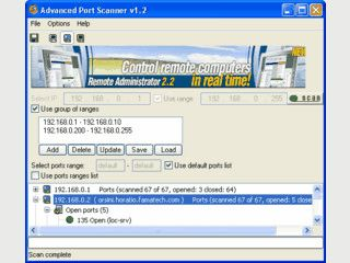 Schneller Multiport Scanner für Windows