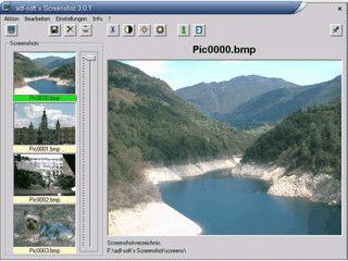 Einfaches Tool zum Erstellen von Screenshots.