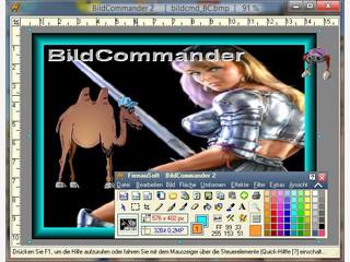 Grafikprogramm mit vielen Zeichenfunktionen, Filtern usw.
