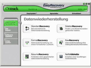 Umfangreiche Datenrettungssoftware vom Datenrettungs-Spezialisten
