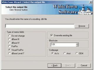 Konvertiert Datenbanken zwischen den unterschiedlichen DBF Versionen
