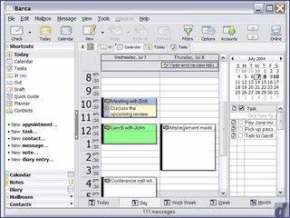 Software für eMails, Notizen und Kontakte sowie vollständigem Kalender
