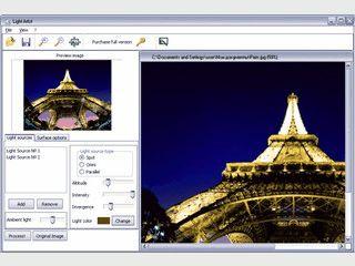Fügen Sie Ihren Bildern Licht- und Beleuchtungseffekte hinzu