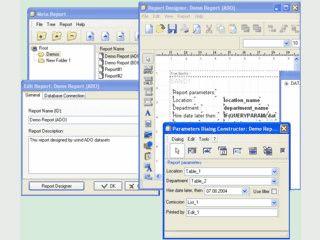 Reportgenerator für Datenbanken wie z.B. MS SQL, Paradox, DBase und MySQL