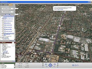 Google Earth ermöglicht Ihnen eine virtuelle Reise über die Erde und den Mond.