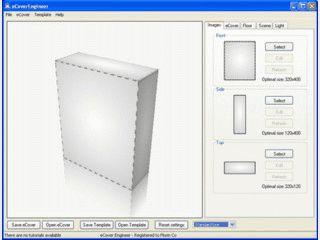 Grafik-Tool zur Erstellung so genannter Boxed-Cover