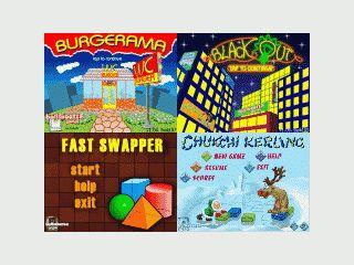 Vier verschiedene Denkspiele für Pocket PC