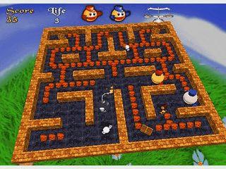 Guter PacMan Clone mit neuer Spielvariante