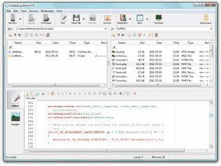 FTP Client mit Editor und weiteren Funktionen