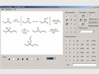 Strukturformel-Editor 4.1 - kostenlos downloaden