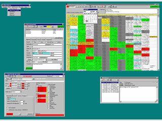 Terminplaner für die Artzpraxis, netzwerkfähig, BDT-Anbindung