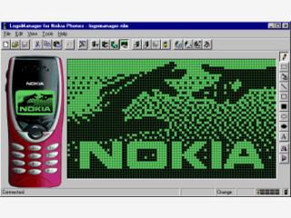 Erlaubt es die Designs und Logos Ihres Nokia Handy selbst zu erstellen.
