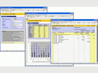 Sehr einfach zu bedienendes Kassenbuch für Excel zur Vorlage beim Finanzamt