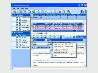 Spamfilter für Ihre eMail Postfächer.
