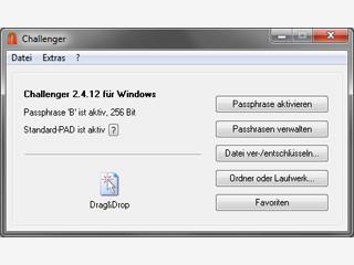 Verschlüsselung von beliebigen Dateien - auch direkt vom USB-Stick