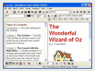 Software mit der Sie eBooks erstellen können.