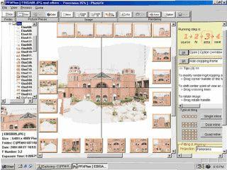 Software mit der Sie einzelne Bilder zu Panoram-Bildern zusammensetzen können
