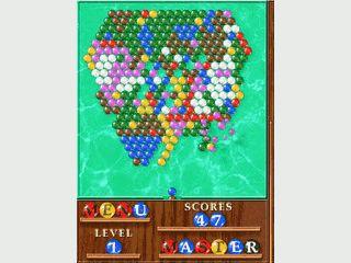 Bubble Snooker Variante für den Pcoket PC