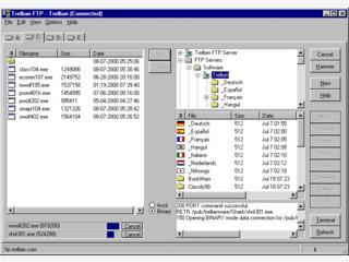FtpWolf ist ein Internet Dateisucheprogramm und durchsucht 26 FTP Suchmaschinen.