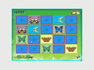Merkspiel mit 8 verschiedenen Kartensets und je 10 Tier-Motiven