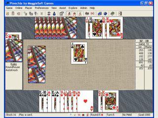 Pinochle and Bezique ist ein Kartenspiel für 2 Spieler, online oder gegen den PC