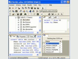 Tool zur Erstellung und Wartung von ODBC oder IDAPI Datenbanken.