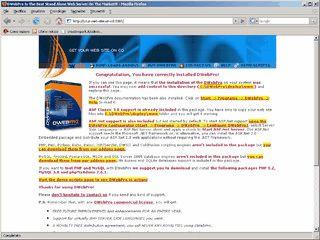 Stand-alone Webserver zur Weitergabe von dynamischen Webseiten auf CDRom