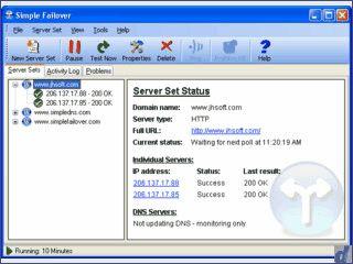 Server-Monitor der automatisch DNS Einträge aktualisieren kann