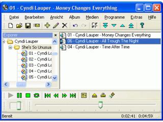 Programm zum Abspielen von Musik- und Videodateien vieler Formate.