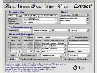 Überträgt Daten PC-Schnittstellen an eine beliebige Windows Anwendung
