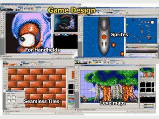 Werkzeug zum Erzeugen von animierten Bitmap Grafiken. z.B. für Spiele
