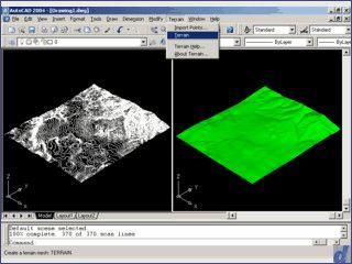 Plug-In für AutoCAD zur Erstellung von Landschaften