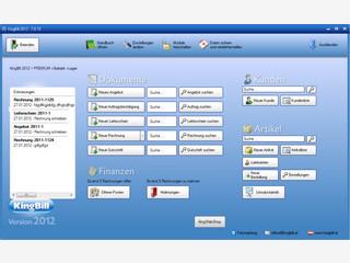 Software zum Erstellen von Angeboten und Rechnungen