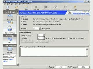 Testen Sie, wie Ihr Webserver auf besonders viele Anfragen reagiert.
