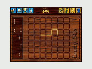 Logisches Kombinationsspiel mit 5 Stäbchen und 55 Muster