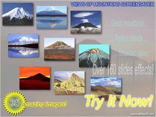 Bilder von Gebirgen, Gebirgsketten und Gebirgsseen