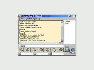 Chat Programm für lokale Netzwerke mit vielen Funktionen.