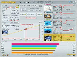 Online Multiplayer Wirtschaftssimulation.
