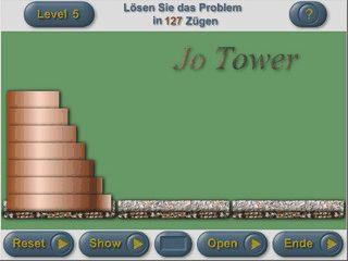 Setzen Sie einen Turm Stein für Stein auf ein neues Fundament.