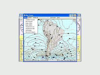 Eine umfangreiche Wetterstation mit Daten aus dem Internet