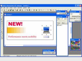 Einfacher Editor zum Editieren und Optimieren von Gif-Animationen.