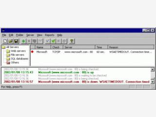 Server Monitor für alle gängigen Protokolle.
