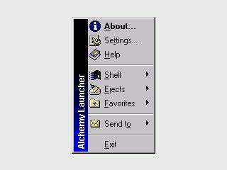 System-Tray-Utility zum Starten von Programmen mit einem Mausklick