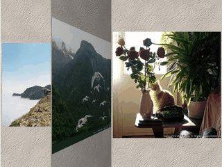 Einen Ordner auswählen und darin befindliche Bilder schonen Ihren Bildschirm