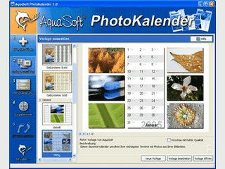 aquasoft photokalender
