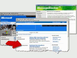 Stoppt das Nachladen von Bildern & die Ausführung von Scripts in Outlook Express